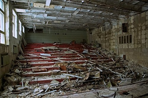 auditorium  theatre  pripyat