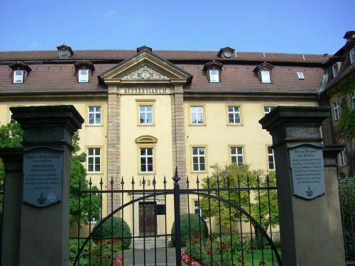 aufseesianum,bamberg,internatinė mokykla nuo 1738 m .,studentų namai,filmas,skraidanti klasė,roman erich kästner