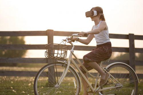 augmented reality bicycle bike