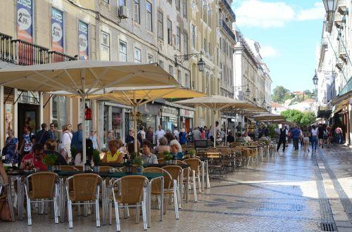 augusta street lisbon portugal