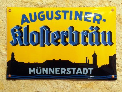 augustiner klosterbräu münnerstadt advertising