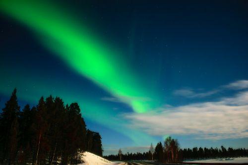 aurora aurora borealis finnish lapland