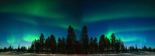 aurora finland finnish lapland
