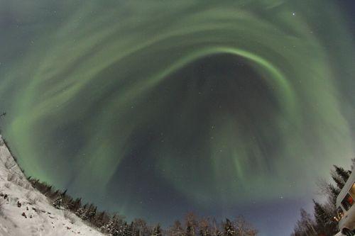 aurora alaska borealis