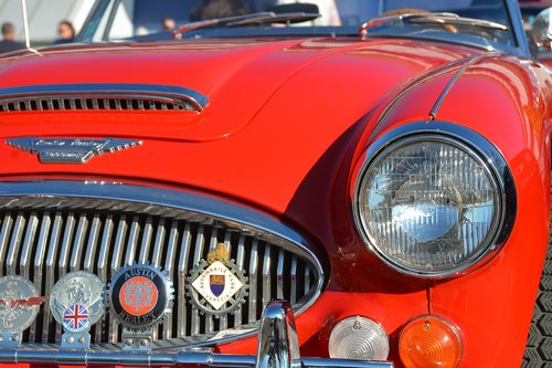 austin healey  car  automobile