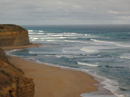 australia coastline ocean