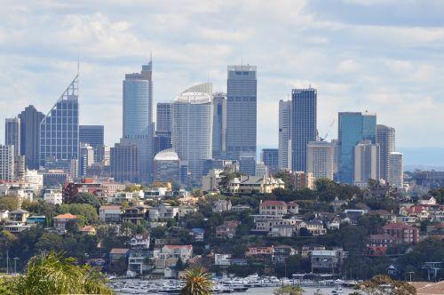 australia sydney skyscrapers