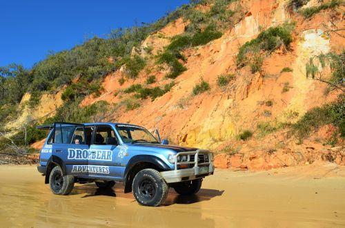 australia,kelionė,papludimys,smėlis,pakrantė,4wd,vasara