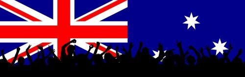 australia patriotic flag