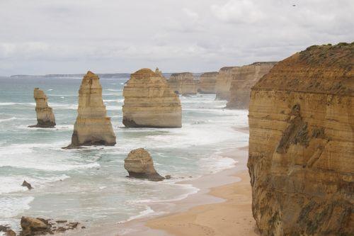 australia apostles ocean