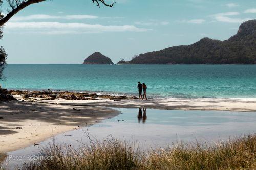 australia tasmania brunie island