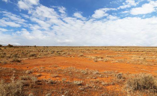 australia desert red
