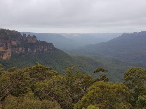 australia three sisters blue mountains