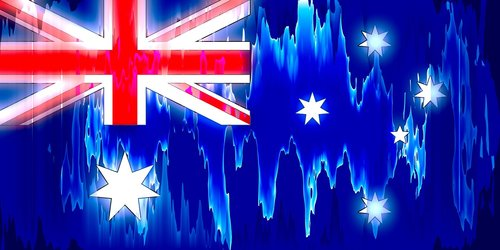 australia  national flag  flag