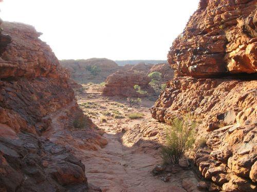 australia kings canyon gorge