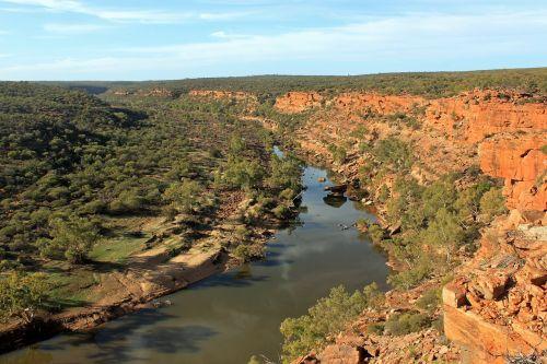 australia outback river