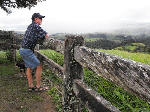 australia queensland scenery fence