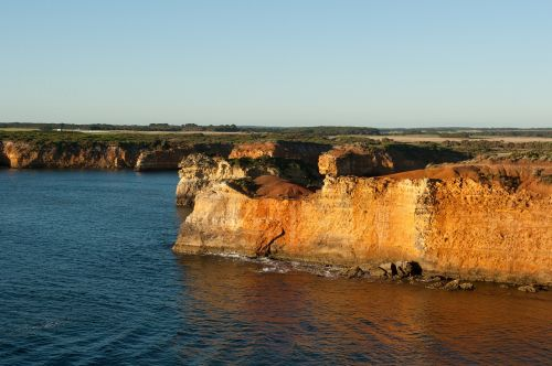 australian coastline coast cliffs