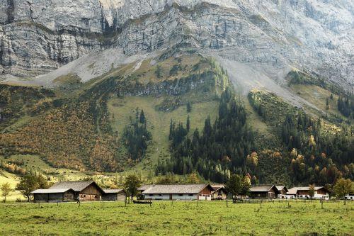 austria tyrol karwendel mountains