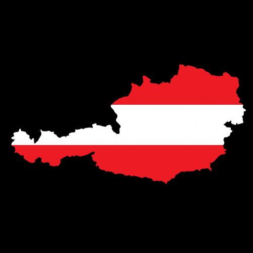 austria map land