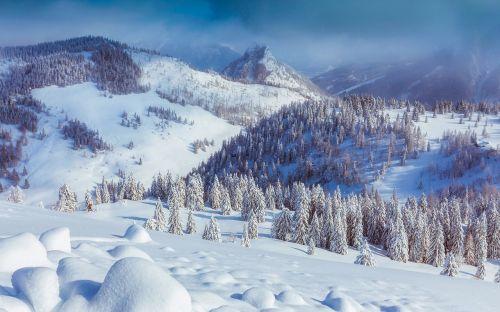 austria mountains valley