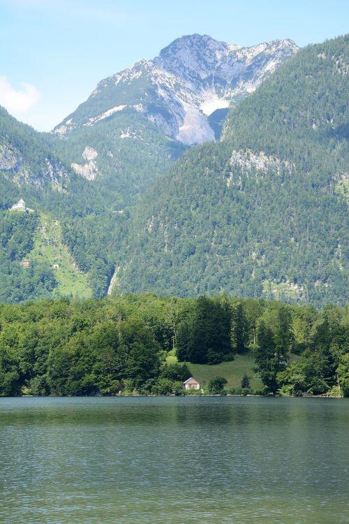 austria lakes mountain