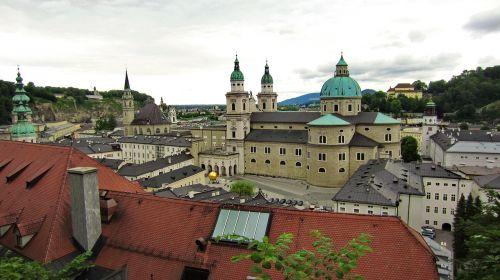 austria salzburg old town