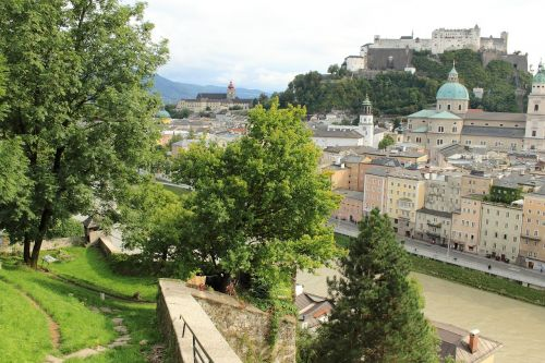 austria salzburg hohensalzburg fortress