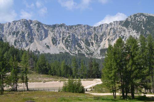 austria mountains landscape