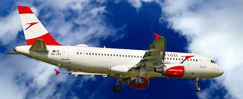 austrian airlines  airbus  a320-214
