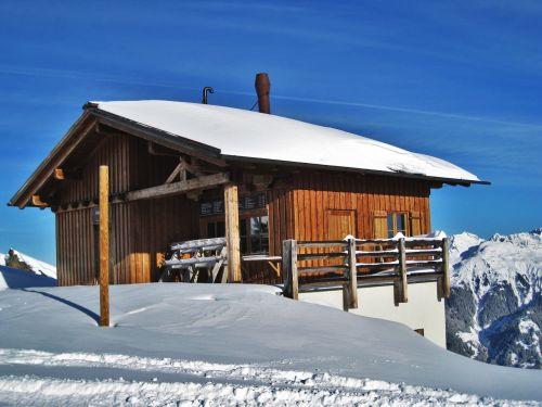 austrian ski chalet montafon ski area log cabin