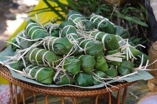 autentiškas,maistas,daržovės,vaisiai,makaronai,skanus,skanus,luang prabang,laosas