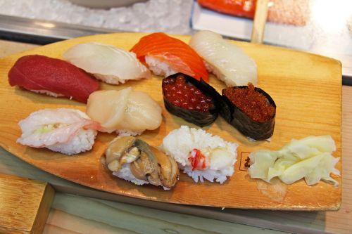 authentic sushi sashimi