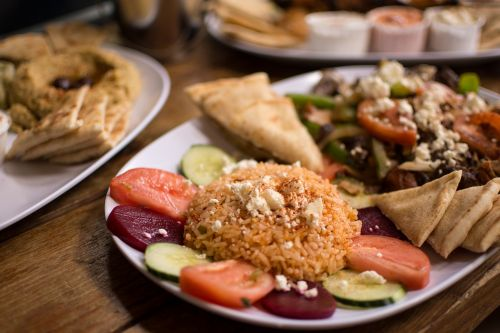 authentic greek greek food hummus