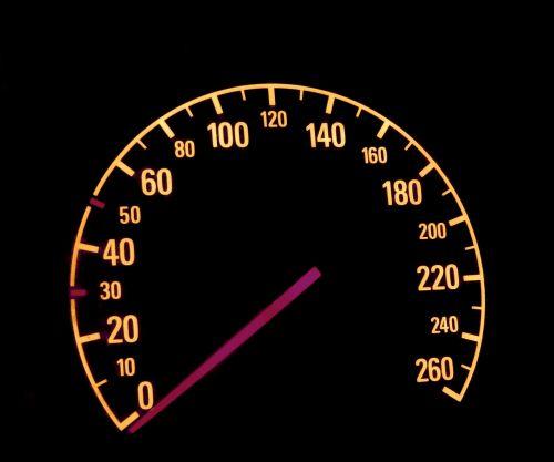 auto kilometer needle