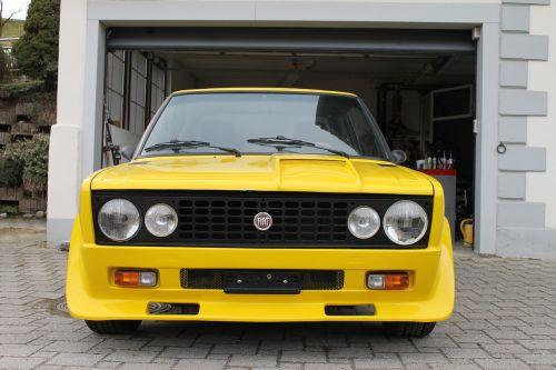 auto car yellow