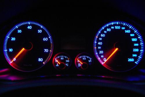 auto speedometer tachometer