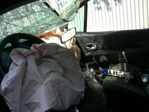 auto accident driver's seat