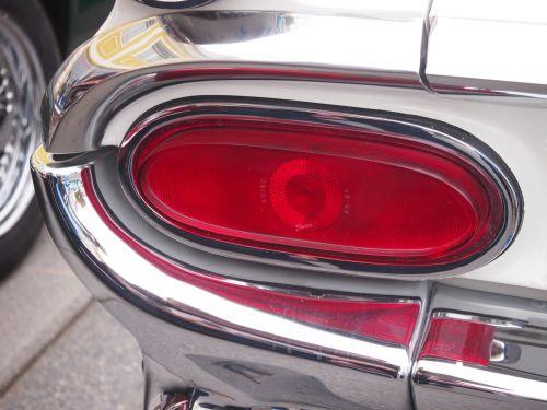 auto oldtimer back light