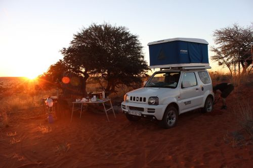 auto roof tent namibia