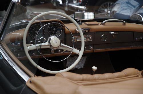 auto mercedes speedometer