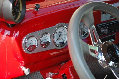 auto dashboard speedometer