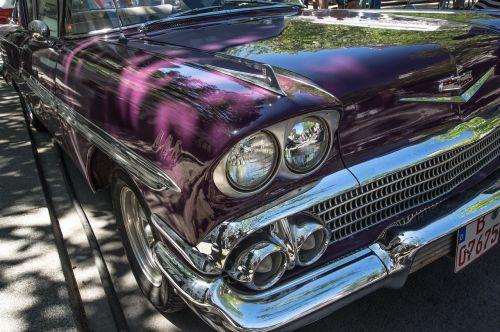 automatinis, Chevrolet, oldtimer, chromas, klasikinis, transporto priemonė, transporto sistema, vairuoti, prožektorius, automobiliai, be honoraro mokesčio