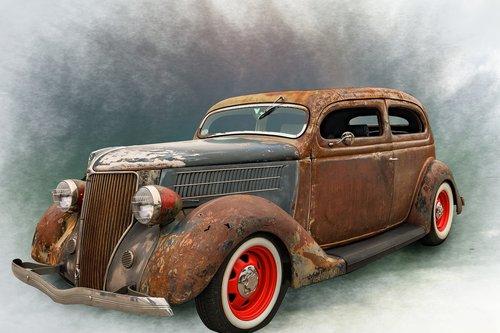 auto  old  car