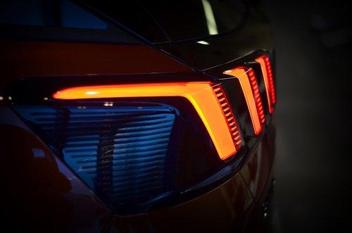 auto  rear light  peugeot