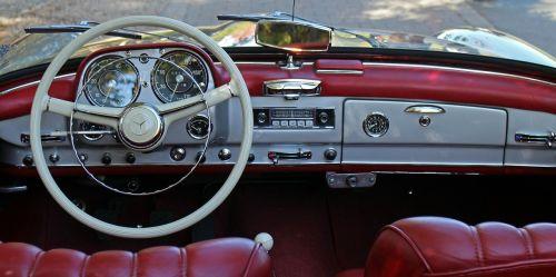 auto steering wheel interior