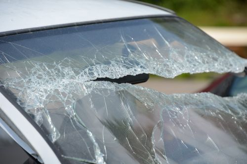 auto accident broken