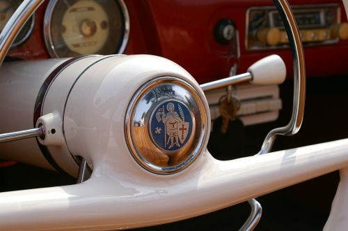 auto steering wheel oldtimer