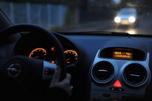 auto interior dark
