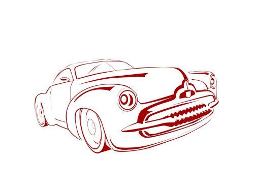 auto retro car